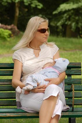 Breastfeeding in public places