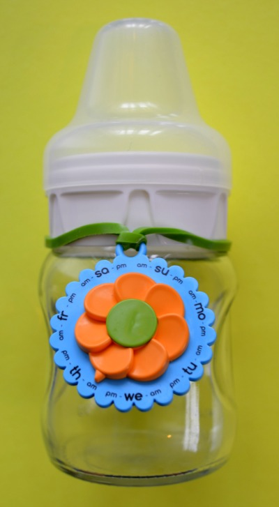 Eepples MilkCharm on regular neck bottle