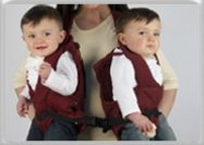 TwinTrexx Twin Baby Carrier