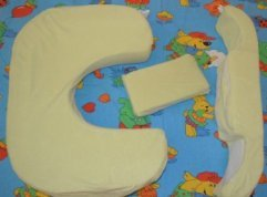 how to use my brest friend twin pillow