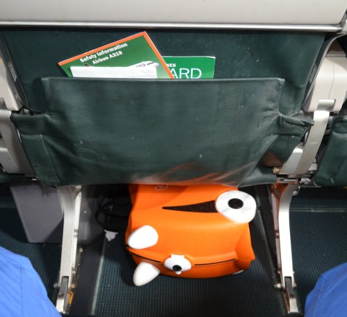 Trunki fits under the seat