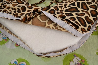 Main twin pillow Velcro