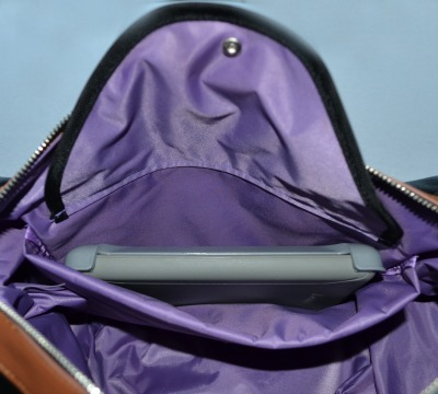 Maddy breast pump bag padded pocket