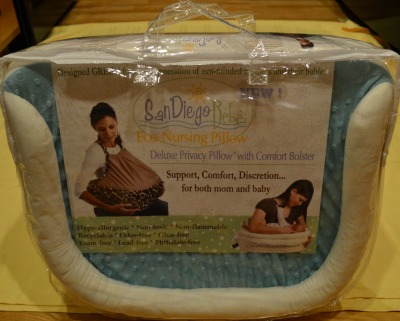 Double Blessings San Diego Bebe Pillow for One Baby