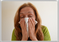 Look at this list of allergy symptoms