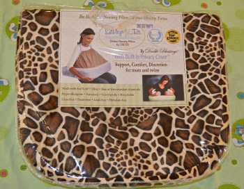 Double Blessings San Diego Bebe Twin Pillow