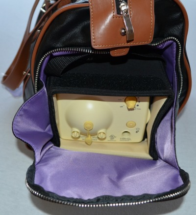 Maddy breast pump bag with pump