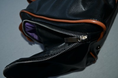 Maddy breast pump bag zipper