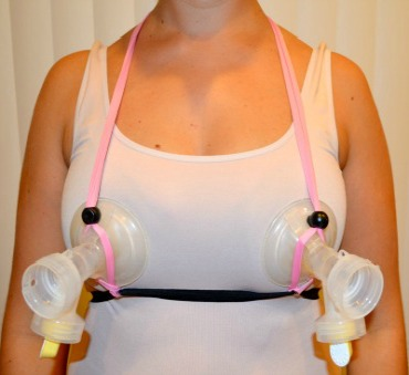 Simplicity Hands Free Pumping Bra Kit