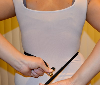 Simplicity waist strap alligator clip